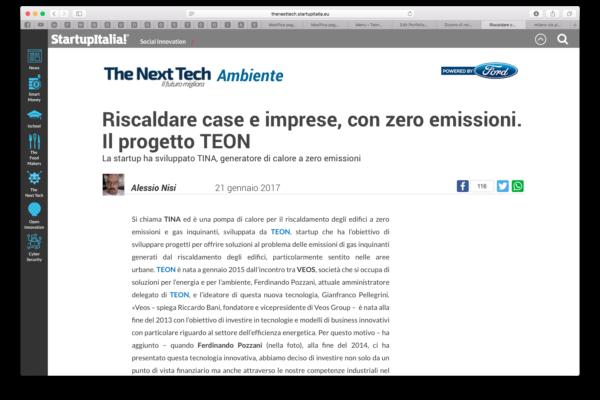 Next Tech ambiente