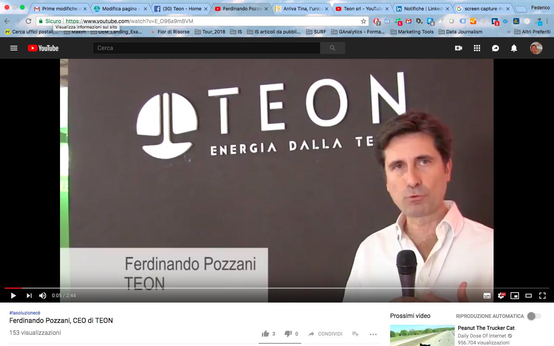 Ferdinando pozzani su Teon
