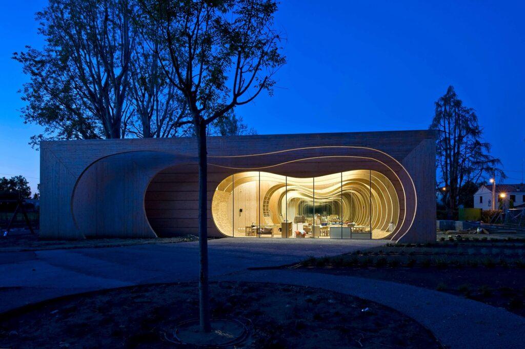 La balena architettura sostenibile